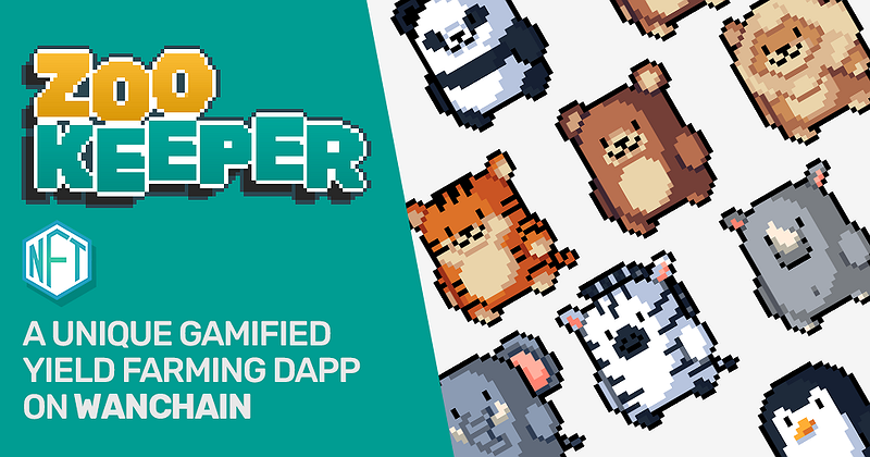Zookeeper, A New NFT Based Yield Farming DApp